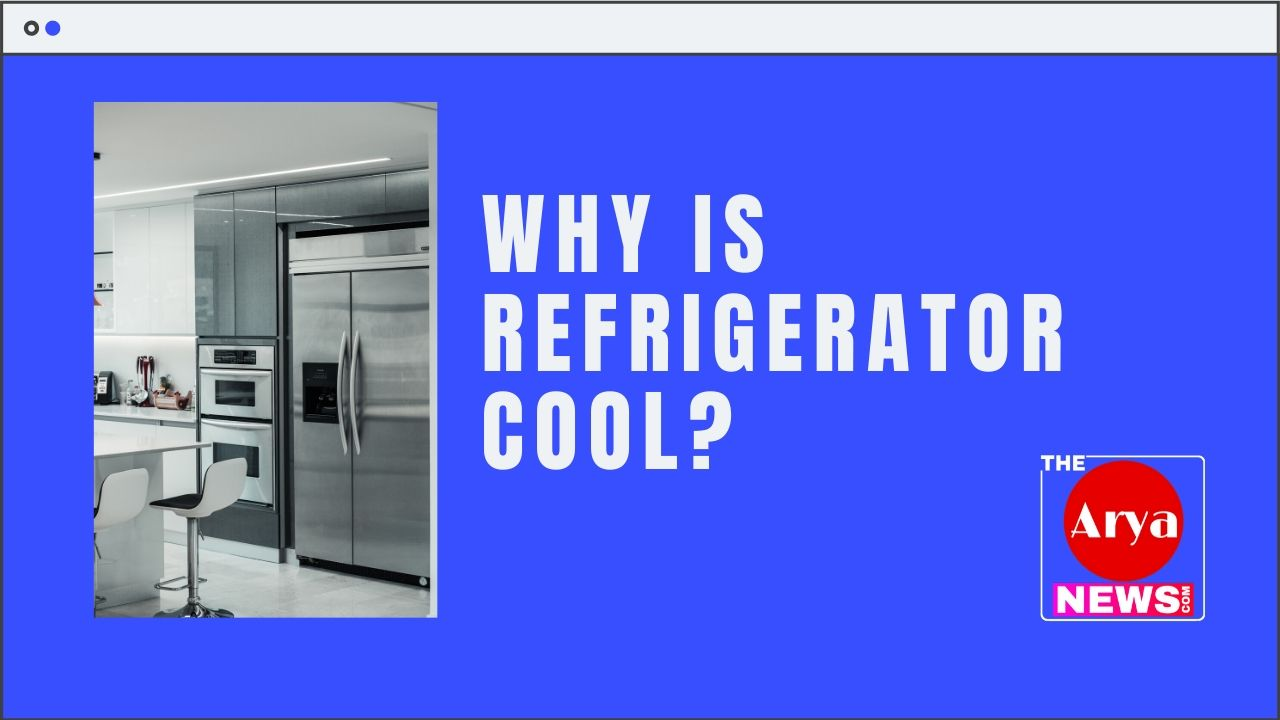Why is refrigerator cool?