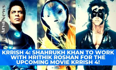 Krrish 4: Shahrukh Khan to work with Hrithik Roshan for the upcoming movie Krrish 4!